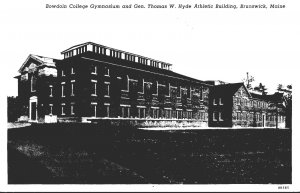 Maine Brunswick Gymnasium and General Thomas W Hyde Athletic Building Curteich