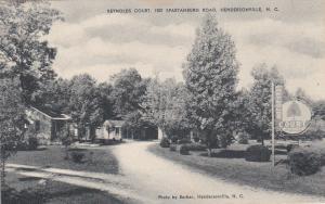 Reynolds Court, HENDERSONVILLE, North Carolina, 1900-1910s