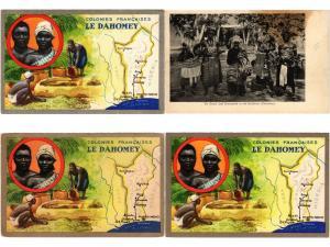 DAHOMEY BENIN AFRICA AFRIQUE 20 CPA
