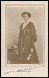 Austria 1917 Empress Kaiserin Zita Last Austrian Empress  RPPC 70346
