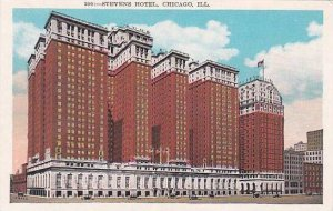 Illinois Chicago Stevens Hotel