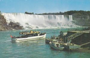 NIAGARA FALLS, Ontario, Canada, 1940-1960's; The Maid Of The Mist Boat, Niaga...
