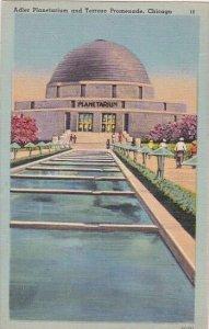 Illinois Chicago Adler Planetarium And Terrazo Promenade
