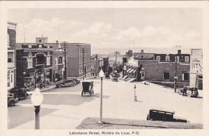 RIVIERE du LOUP , Quebec , Canada , 20-30s; Lafontaine Street