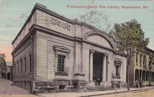 HAGERSTOWN , Maryland ; 1913 ; Free Library