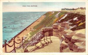BR62749 high tide bispham    uk