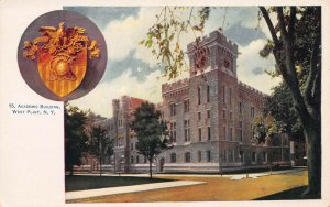 Academic Building, West Point, New York, Early Postcard, Undivided Back, Unused