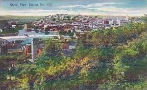 Pennsylvania Easton Aerial View