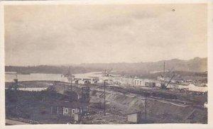 Panama Canal Scene Real Photo