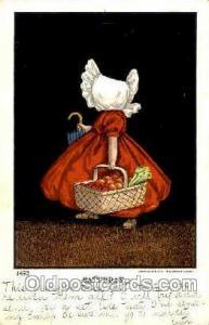No. 1493  The Ullman MFG. Co., N.Y., USA Sun Bonnet, Bonnets Postcard Post Ca...