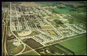 Saskatchewan MELFORT Aerial View - pm1974 - Chrome