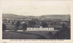 Ilion, New York, from the Tracks of The New York Central Railroad, Ilion,  Ne...