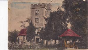 ENGLAND, 1900-1910's; Ashtead Church And Lychgate