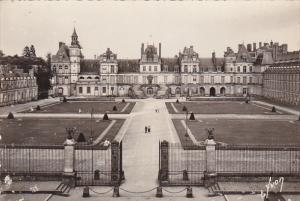 France Fontainbleau Le Palais Cour des Adieux
