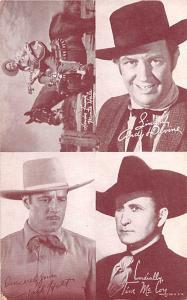 Andy Devine, Jack Holt, Tim McCoy Western Actor Mutoscope Unused