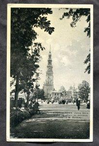 dc369 - CZESTOCHOWA Poland 1934 Jasna Gora Monastery