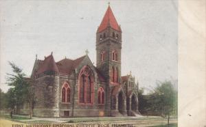 ROCK ISLAND, Illinois, PU-1909; First Methodist Episcopal Church