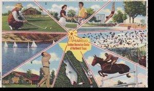 Texas Amarillo Outdoor Recreation Center Albertype