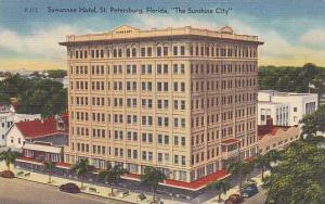Suwanee Hotel, St. Petersburg, The Sunshine City, Florida, 30-40s