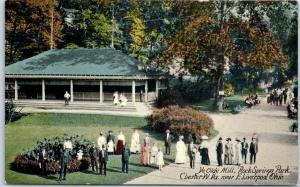 1910s Chester, West Virginia Postcard Ye Olde Mill - Rock Springs Park Unused