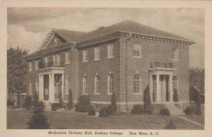 South Carolina Due West McQuiston Divinity Hall Erskine College