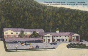 New Riverside Hotel Gatlinburg Tennessee Curteich