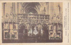 France Troyes Eglise de la Madeleine Jube de la Nef