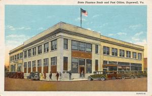 Hopewell Virginia~State Planters Bank~Post Office~Storefronts~1920s Cars~PC