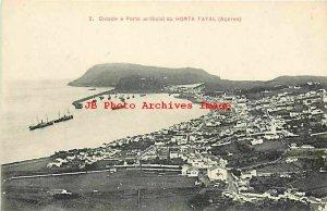 Portugal, Azores, Fayal, Horta, Cidade e Porto Artificial, Card No 2