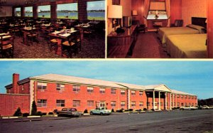 Wakefield, Massachusetts - Colonial decorated Lord Wakefield Motor Hotel - c1960