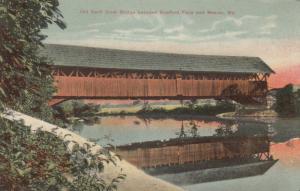 Old Swift River Bridge between RUMFORD FALLS & MEXICO, Maine, 1900-10s