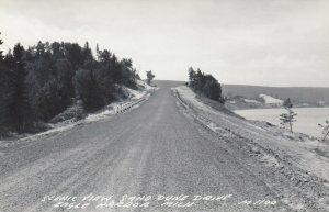 RP: EAGLE HARBOR , Michigan , 1930-40s ; Scenic View, Sand Dune Drive