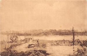 Belgium Le Redan, la passerelle Mantel, la Grue du Quai de Nieuport