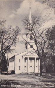 WILLIAMSTOWN, Massachusetts, PU-1945; First Congregational Church