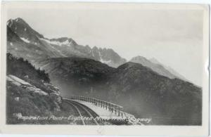RPPC of Inspiration Point, Eighteen Miles from Skagway White Pass