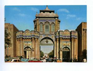 192908 IRAN TEHRAN Bagh melli Gates old photo postcard