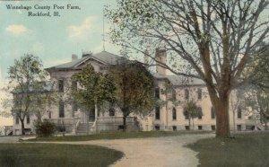 ROCKFORD , Illinois, 1900-10s ; Winnebago County Poor Farm