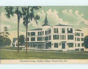 Pre-Chrome COLLEGE SCENE Winter Park - Near Orlando Florida Florida FL AG7914