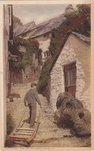 North Hill & Backstairs, Clovelly (Devon), England, UK, 1900-1910s