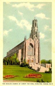 Canada - Ontario, Hamilton. Basilica Church of Christ the King