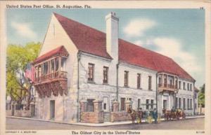 Florida St Augustine Post Office