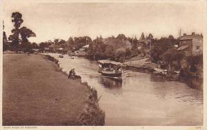 Boat, River Avon At Evensham (Worcestershire), England, UK, PU-1945