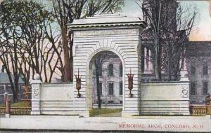 New Hampshire Concord Memorial Arch 1909