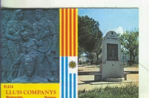 Postal 005506 : Plaza Lluis Company en Montevideo-Uruguay