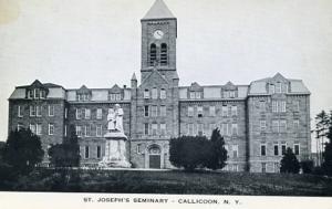 NY - Calicoon. St. Joseph's Seminary