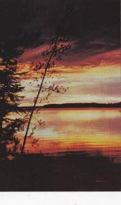 Sunset , Thompson , Manitoba , Canada,  50-60s