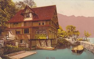 RP; Hand-colored, Treib, Lucerne, Switzerland, 00-10s