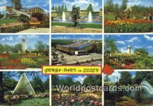 Essen Germany, Deutschland Postcard Gruga Park Essen Gruga Park