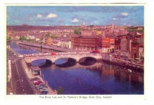 Tyhe River Lee and St. Patrick's Bridge, Cork City, Ireland, 50-70s