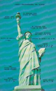 New York City Statue Of Liberty Enlightening The World